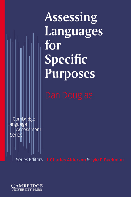 Assessing Languages for Specific Purposes Paperback