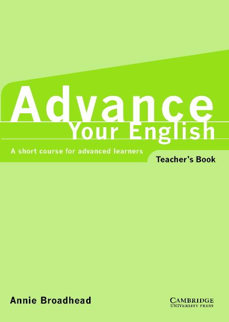Advance Your English Teacher's Book