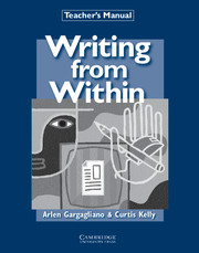 Writing from Within Intermediate Teacher's Manual