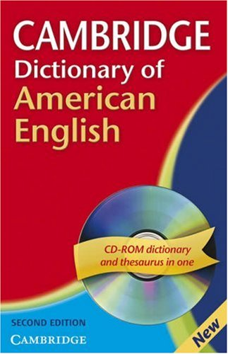 Cambridge Dictionary of American English  Second edition Paperback with CD-ROM for Windows and Mac