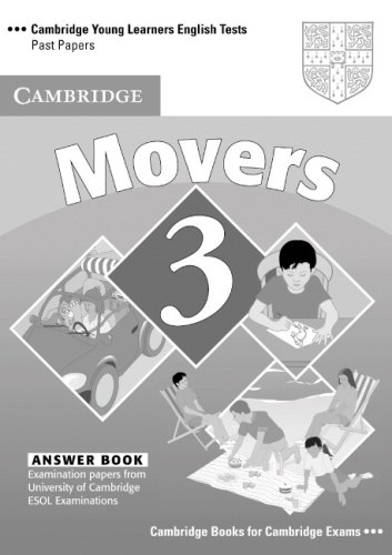 Cambridge Young Learners English Tests 3  Second edition Movers 3 Answer Booklet