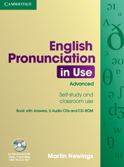 English Pronunciation in Use Advanced Edition with answers and CD-ROM/Audio CDs (5)