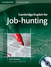 Cambridge English for Job-hunting Intermediate to Advanced Student's Book with Audio CDs (2)