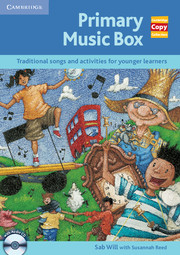 Primary Music Box Book and Audio CD Pack