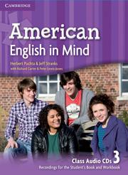 American English in Mind 3 Class Audio CD