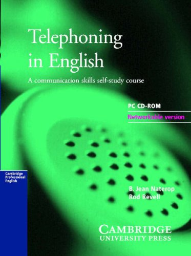 Telephoning in English CD-ROM Network Version (single site)