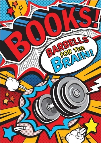 Books! Barbells POP! Chart