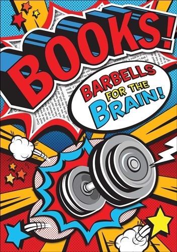 Books! Barbells POP! Chart