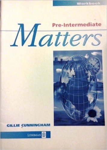 Matters Pre-Intermediate Workbook no Key