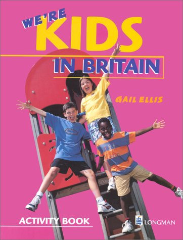 We're Kids in Britain Activity Book