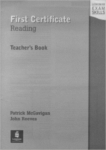 Longman Exam Skills First Certificate Reading Teacher's Book