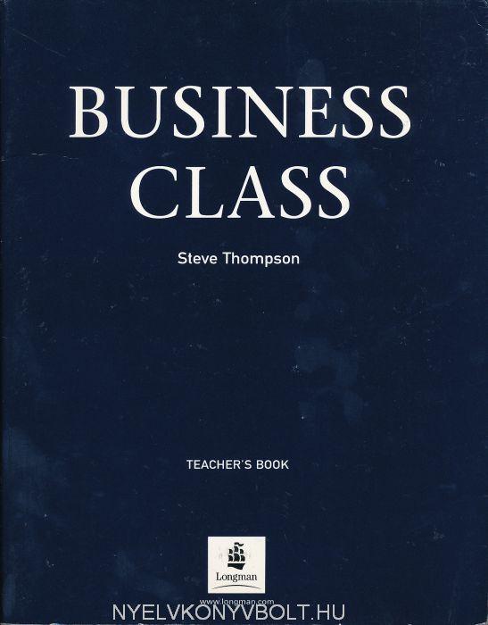 Business Class Teachers Book