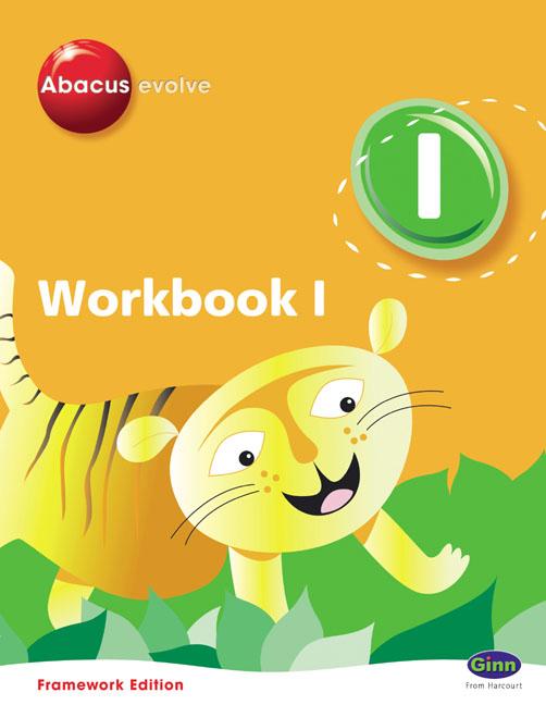 Abacus Evolve Year 1/P2 Workbook 1 8-pack Framework Editio
