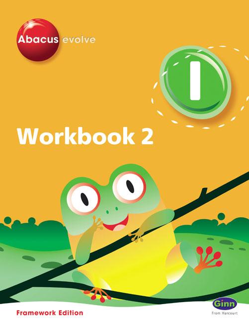 Abacus Evolve Year1/P2: Workbook 2 Pack of 8 Framework Ed