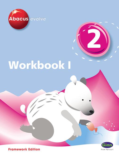 Abacus Evolve Year 2/Part 3 Workbook 1 (Pack of 8 Framework)