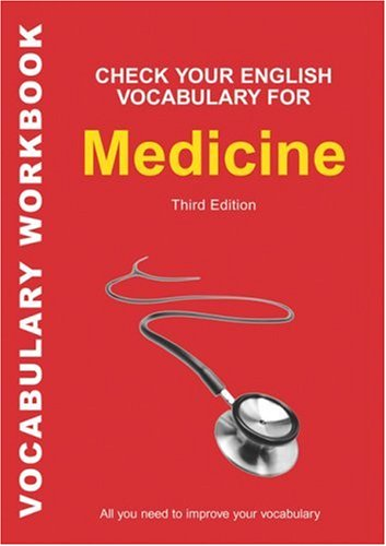 Check Your English Vocabulary for Medecine  3Ed