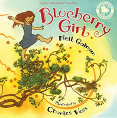 Blueberry Girl (illustrated)