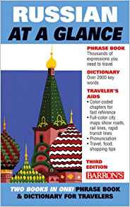 Barron's Russian at a Glance 3rd Edition