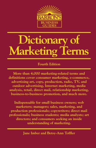 Barron's Dictionary of Marketing Terms 5th Edition
