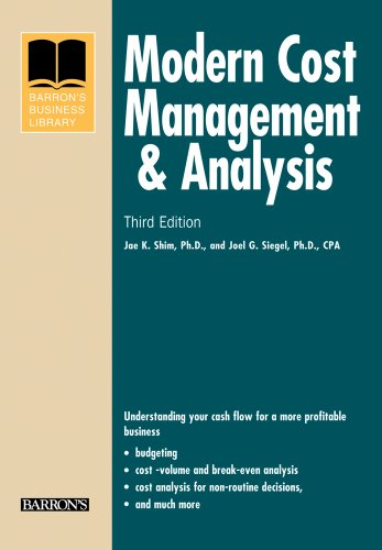 Modern Cost Management and Analysis 3rd Edition