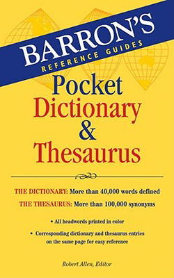 Barron's Pocket Dictionary and Thesaurus
