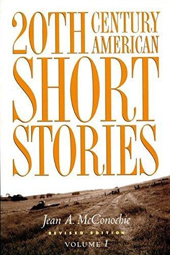 20th Cent Amer Short Stories V1 2e