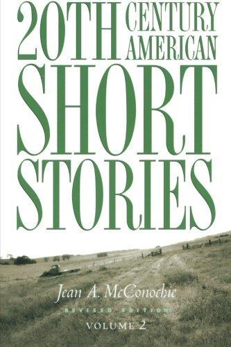 20th Cent Amer Short Stories V2 2e