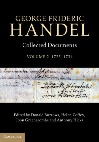 George Frideric Handel.  Collected Documents