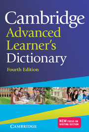Cambridge Advanced Learner's Dictionary 4Ed HB
