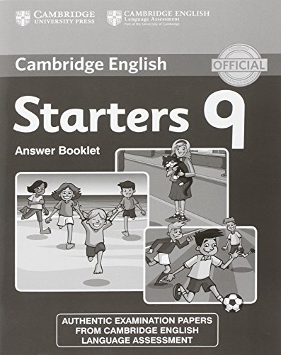 Cambridge English Young Learners 9 Starters 