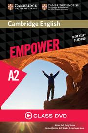 Camb Eng Empower Elem Cl DVD