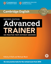Advanced Trainer Six Practice Tests without Answers with Audio