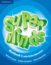 Super Minds 1 WB + Onl Res