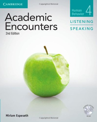 Academic Encounters Level 4  Student's Book Listening and Speaking with DVD  Human Behavior  2nd Edition