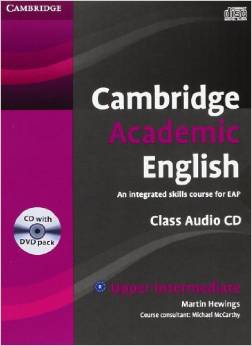 Cambridge Academic English B2 Upper Intermediate Class Audio CD and DVD Pack