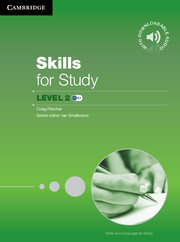 Skills and Language for Study Skills for Study Student's Book with Downloadable Audio