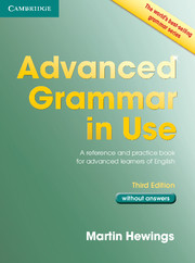 Advanced Grammar in Use Book without Answers 3ed