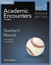 Academic Encounters Level 2  Teacher's Manual Reading and Writing  American Studies  2nd Edition
