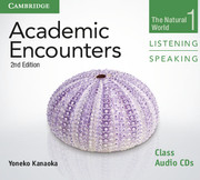 Academic Encounters Level 1  Class Audio CDs (2) Listening and Speaking  The Natural World  2nd Edition
