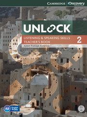 Unlock Level 2 Listening and Speaking Skills Teacher's Book with DVD