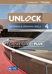 Unlock Level 4 Listening and Speaking Skills Presentation Plus DVD-ROM