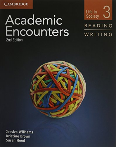 Academic Encounters Level 3 .  2 Book Set (Student's Book Reading and Writing and Student's Book Listening and Speaking with DVD)  Life in Society  2nd Edition