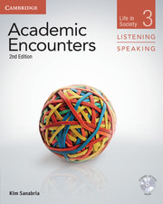 Academic Encounters Level 3  . Student's Book Listening and Speaking with DVD .  Life in Society  2nd Edition