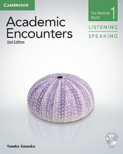 Academic Encounters Level 1  Student's Book Listening and Speaking with DVD  The Natural World  2nd Edition