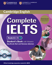 Complete Ielts Bands 6.5-7.5 Student's Pack (Student's Book with Answers with Cd-Rom and Class Audi