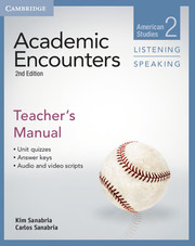 Academic Encounters Level 2  Teacher's Manual Listening and Speaking  American Studies  2nd Edition