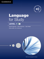 Skills and Language for Study Language for Study Student's Book with Downloadable Audio
