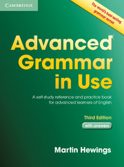 Advanced Grammar in Use Book with Answers 3ed