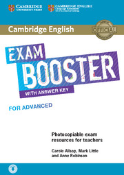 Exam Booster For Advanced With Ans Key With Audio