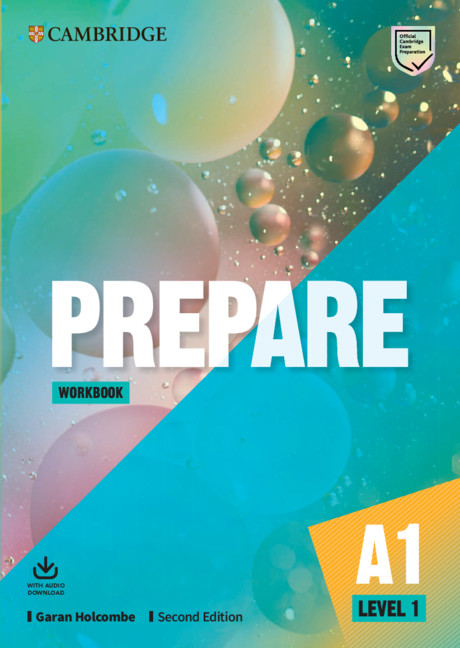 Prepare 2Ed 1 WB + Downloadable Audio